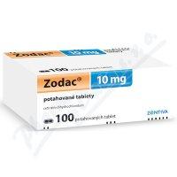ZODAC 10MG potahované tablety 100