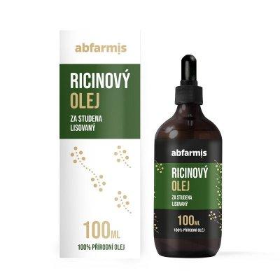 Abfarmis Ricinový olej 100ml