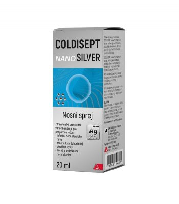Coldisept nanoSilver nosní sprej 20ml