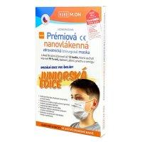 NANO M.ON Prém.nanovláken.maska Junior oranž.10ks