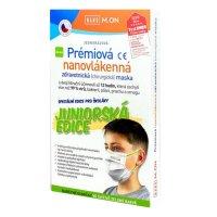 NANO M.ON Prém.nanovláken.maska Junior zel.10ks