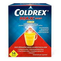 Coldrex Maxgrip citron 1000MG/10MG/40MG rozpustné sáčky 14
