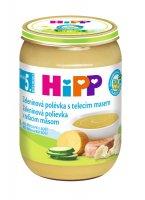 HiPP POLÉVKY BIO Zeleninová s telecím m. 190g C-105
