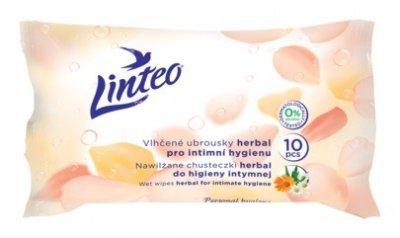 Vlhčené ubrousky Linteo intimní herbal 10ks