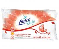 Vlhčené ubrousky LINTEO BABY soft & cream 24ks