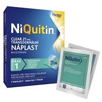 NIQUITIN CLEAR 21 MG 21MG/24H transdermální náplasti 7