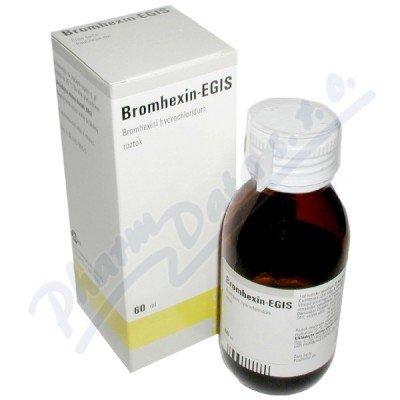 BROMHEXIN EGIS 2MG/ML perorální SOL 60ML