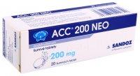 ACC NEO 200MG šumivá tableta 20