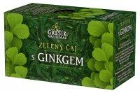 Grešík Zelený čaj s ginkgem n.s.20x1.5g přebal