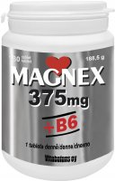 Magnex 375mg+B6 tbl.180