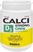 Calci Strong Chew+Vit.D3 tbl.120 Vitabalans