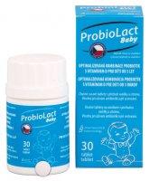 ProbioLact Baby tablety na cucání s vitaminem D příchuť vanilka citron 30 ks