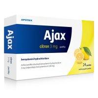 AJAX CITRON 3MG pastilka 24