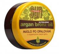 Arganové máslo po opalování s glitry 200ml