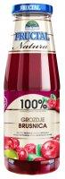 NATURA brusinka hrozno 100% 700 ml
