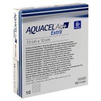 AQUACEL AG+ EXTRA 10X10 CM, KRYTÍ S TECHNOLOGIÍ HYDROFIBER A SE STŘÍ