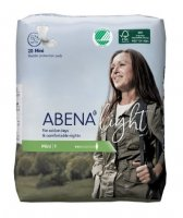 ABENA LIGHT MINI 1 VLOŽKY ABSORPČNÍ, 180ML, 20KS