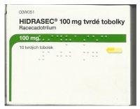 HIDRASEC 100MG tvrdé tobolky 10
