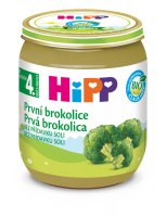 HiPP ZELENINA BIO První brokolice 125g C-57