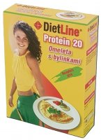 DietLine Protein 20 Omeleta s bylinkami 3x30g