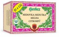 HERBEX Meduňka lékařská n.s.20x3g