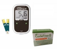 Glukometr SD-Codefree PLUS AKCE+50 proužků navíc