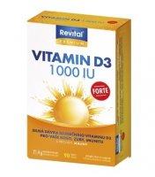 Revital Vitamin D3 Forte 1000 IU tbl.90