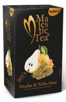 Čaj Majestic Tea Hruška&Yerba Maté 20x2.5g