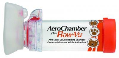 AEROCHAMBER PLUS FLOW-VU ANTI-STATIC VHC INHALAČNÍ NÁSTAVEC S CHLOPNÍ A MASKOU PRO KOJENCE
