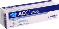ACC LONG 600MG šumivé tablety 20