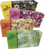Papírové kapesníky LINTEO 2-vrstvé bílé 100 ks