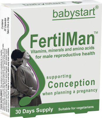 Babystart FertilMan vit.pro muže s L-taurin.cps.30