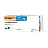 ZODAC 10MG potahované tablety 40