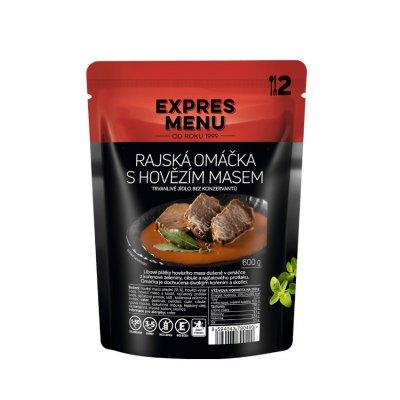 EXPRES MENU Rajská om. s hovězím masem 2 porce