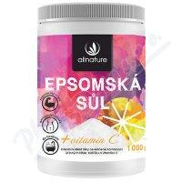 Allnature Epsomská sůl s vitamínem C 1000 g