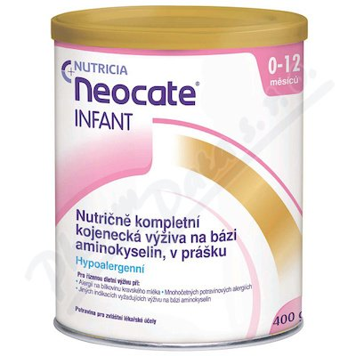 NEOCATE INFANT perorální PLV SOL 1X400G