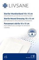 LIVSANE náplast sterilní na oděrky 10x15cm 5ks