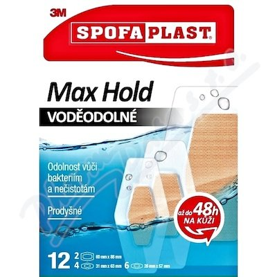 3M Spofaplast 191N Max Hold Voděodolné 12ks
