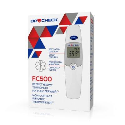 DR CHECK FC500 bezdotykový infračervený teploměr