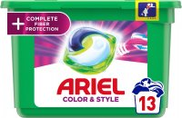 Ariel gelové kapsle All in 1 Color Complete Fiber Protection 13ks