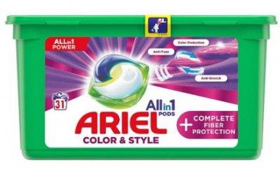 Ariel Fiber Protection Gelové kapsle 31ks
