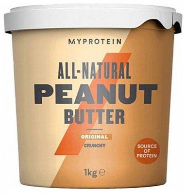 MyProtein Arašídové máslo, křupavé 1kg