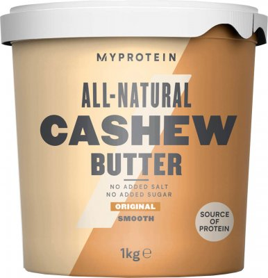 MyProtein Kešu máslo, jemné 1kg