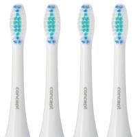 Concept ZK0001 Náhradní hlavice k zubním kartáčkům ZK4000, ZK4010, ZK4030, ZK4040, Daily Clean, 4ks