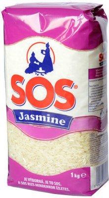 SOS Rýže Jasmine 1kg