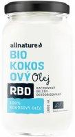 Allnature RBD BIO Kokosový olej - bez vůně 1000ml