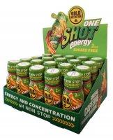 GoldNutrition One Shot Energy - balení 20ks