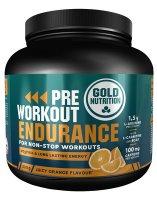 GoldNutrition Pre-Workout Endurance pomeranč 300g