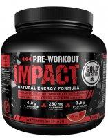 GoldNutrition Pre-Workout Impact vodní meloun 400g