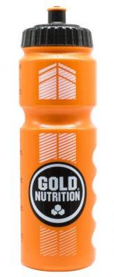GoldNutrition Sports Bottle oranžová 800ml